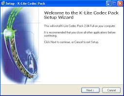 K-Lite Mego Codek Pack 1.58